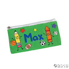 pencil cases canvas pencil cases