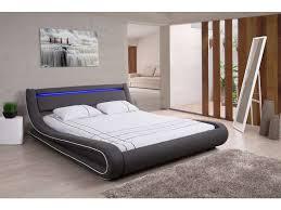 conforama chambre adulte lit adulte 160x200 cm avec led curve lit adulte conforama bon