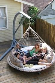 outdoor floating bed relaxing suspended outdoor beds that will transform your summer