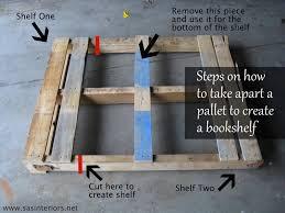 how to make a pallet shelf diy shelf home stories a to z