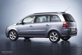 opel minivan opel zafira 2007 m family car rental