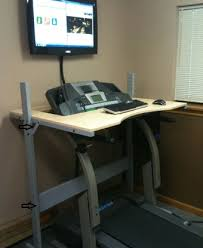 Diy Treadmill Desk Desk Diy Do It Yourself Not