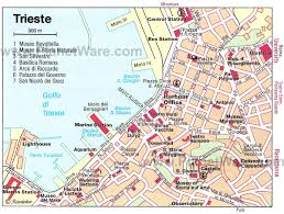 Map Venice Italy by Trieste Map Tourist Attractions Epic South Europe Roadtrip