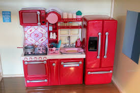Dollhouse Furniture Kitchen Opening Review Of Our Generation Kitchen Set For American