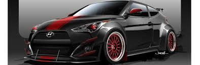 hyundai veloster horsepower blood type racing veloster turbo heads to sema gearopen
