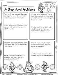 2nd grade 2 step word problems worksheets 2nd grade printable