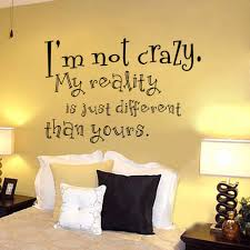 cheshire cat sayings i m not crazy alice in wonderland quote decal cheshire cat sayings i m not crazy alice in wonderland quote decal sticker vinyl wall decals wall murals 96 5cm x 147cm in wall stickers from home garden
