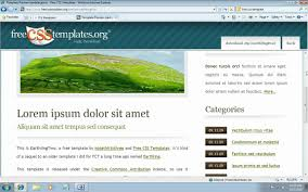 templates for asp net web pages how to use free css templates with asp net mvc 3 youtube
