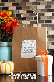 thanksgiving leftovers printable eighteen25 bloglovin