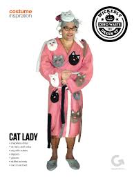 goodwill diy halloween costume inspiration cat lady halloween