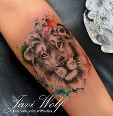 best 25 watercolor lion tattoo ideas on pinterest lion tattoo
