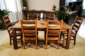 reclaimed wood dining table and chairs with ideas hd photos 2550