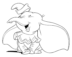 coloring pages dumbo elephant redcabworcester redcabworcester