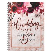 wedding planner notebook wedding planner notebooks journals zazzle