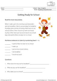 free comprehension worksheets for grade 1 free worksheets library