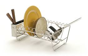 Dish Drainers Rsvp In Sink Stainless Steel Dish Drying Rack Everything Kitchens