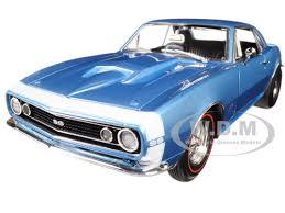 1967 camaro diecast nickey chevrolet camaro 427 ss marina blue limited edition 1 18