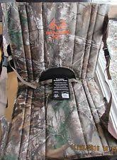 hunting seat cushion camo outdoor sports chair back support