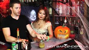 fun halloween drinks u0026 shots jack o lantern cocktail youtube