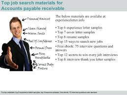 Sample Resume For Accounts Payable And Receivable Sample Resume For Accounts Payable And Receivable 4 Top Job Search