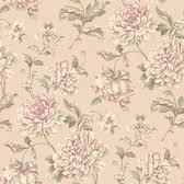 arlington modern contemporary floral wallpapers