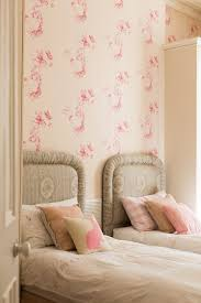 wallpapers for girls bedroom shabby chic style with colour full