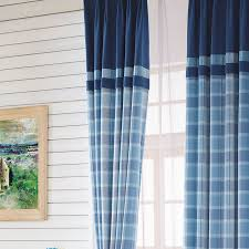 Tartan Drapes Luxury Scotland Curtains For Living Room Thick Plaid Drapes For