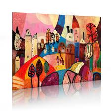 Grose Wohnzimmer Uhren Wandbilder Und Gemalte Bilder U2013 Moderne Wanddekoration