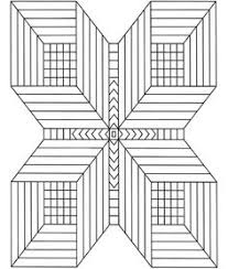 dover publications geometric stained glass coloring