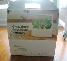 the smart garden click and grow originally launched via kickstarter the smart herb