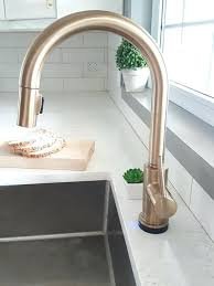 touch faucets for kitchen gold faucet kitchen fitbooster me