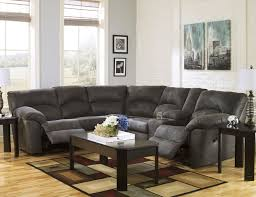 Furniture Sectional Sofas Presley Espresso 3 Piece Reclining Sectional Sofa S3net