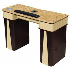 manicure table with built in led light beauty salon furniture manicure table with vent model global 90522v