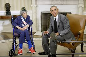 president obama meets with country u0027s oldest living veteran upi com