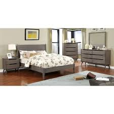 lennart midcentury modern bed