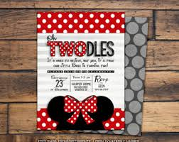 oh two dles minnie mouse cake topper disney party birthday