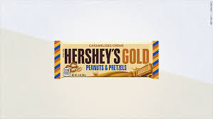 hershey u0027s gold the first new hershey bar in 22 years has no