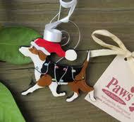 unique pet ornaments hand painted dog ornament hand painted