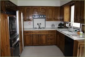 updated kitchen amazing update old flatfront cabinets by adding