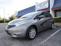 nissan versa sedan 2016 2015 used nissan versa note sv hatchback at expert auto group inc