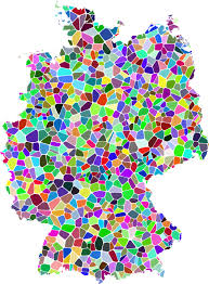 map of deutschland germany free vector graphic republic germany deutschland map free