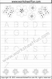 letters u2013 capital letters free printable worksheets u2013 worksheetfun