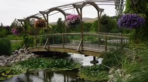 bridge at thanksgiving point garden lehi utah picture of