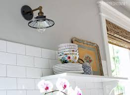 Wall Lights For Kitchen Lighting Sources In My Home The Inspired Room