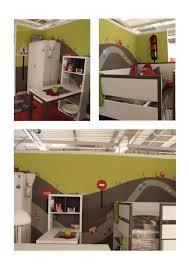 deco chambre enfant voiture chambre de petit garcon pour garon avec une cabane decoration theme