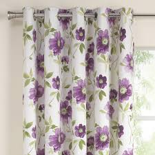 Plum Flower Curtains Curtains Sorbonne Ready Made Eyelet Curtains Heather Amazing