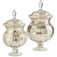 mercury glass apothecary jars pier 1 imports