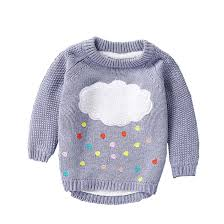 Sweater Toddler Mbbgjoy Children Sweater Baby Boys Knitted Sweaters Cloud