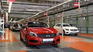mercedes of germany mercedes a class production begins in germany autoevolution
