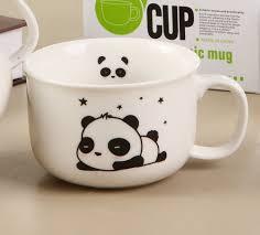 Kawaii Blushing Panda Mugs Cups Cute Awesome Mugs Pinterest